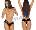 Deep V Leatherwear* 1836 *Ladies G-string T-back Teddy Bikini Boxer Triangle Pajamas Skirt Suit Middle trousers Free Shipping