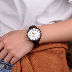 Image 2 - BOBO kuş yeni lüks bayan ahşap saatler özel tasarım el yapımı ahşap kol saati kadınlar relogio feminino Dropship