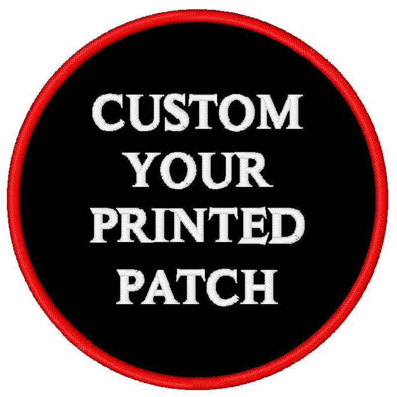 Stampati personalizzati A Buon Mercato Patch di ferro su bagde sew on applique dalla fabbrica