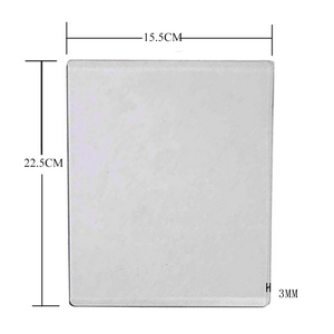 22.5x15.5CM Scrapbooking Die-Cut Machine Plate 3MM Die Cutting Embossing Machine Plate Replacement Pad New arrivage