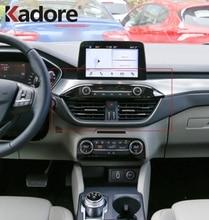 Для Ford Focus 2019 2020 Передняя интерьер автомобильные аксессуары вентиляционная розетка крышка Накладка автомобиля A/C кондиционер ветровые наклейки