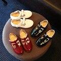 2016 новых осенью Корейский стиль сладкие девочки квартиры обувь 3 цветов freeship