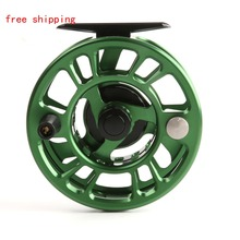 NZ 3/4 Weight Fly Reel CNC  Machine Cut Large Arbor Aluminum Fly Fishing Reel Fly Reel