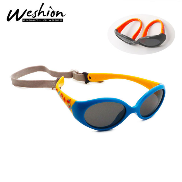 4d01408b6f Baby Sunglasses Polarized Children 2018 Sun Glasses For Girl Boy One to  Three Years Old Brand Designer Spectacles UV400 Oculos