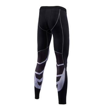 Men Running Tights Compress Yoga Pants GYM Exercise Fitness Leggings Workout Basketball Exercise Men's Sports Training Tights Running Tights