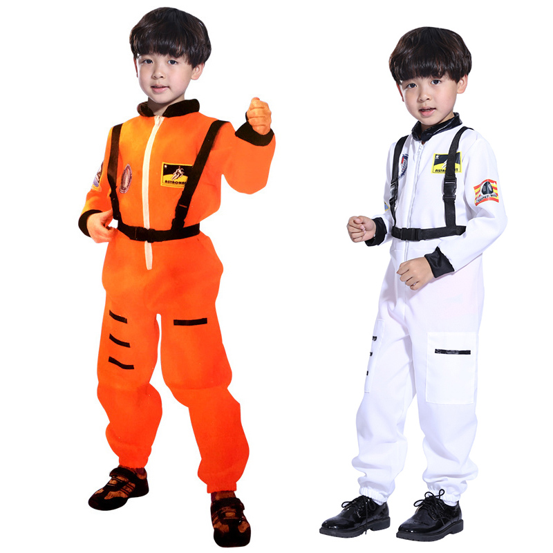 XL Aviation Astronaut costumes for kids boys girls Children Halloween pilot cosplay costumes Christmas Carnival Masquerade party