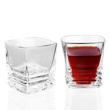 1 шт. квадратный для виски стакан бессвинцовый Кристалл 300 мл ликер чашка для спиртных напитков ePacket