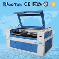 Acctek china cheap laser cutting engraving machine /granite stone laser engraving machine 1390/1290