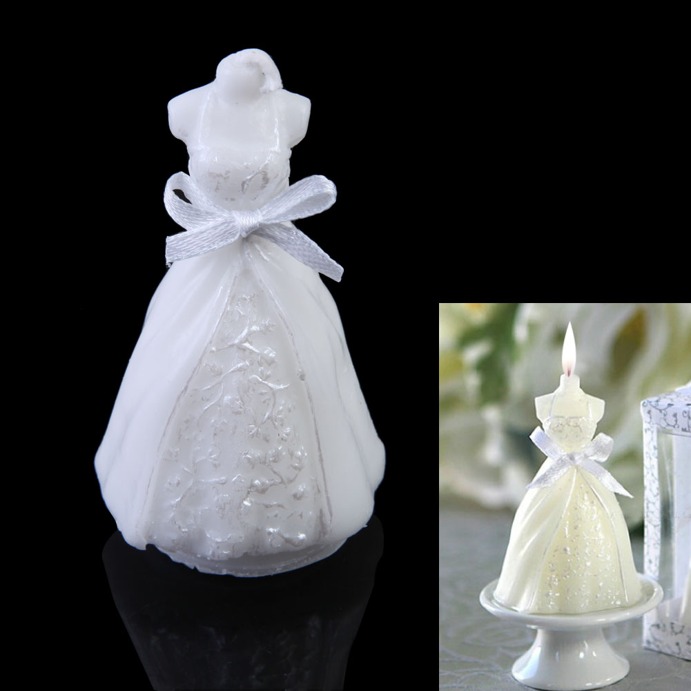 High Quality Wedding Dress Candle Gum Resin Bridal Party Home Decor Gift Fg In Candles From Garden On Aliexpress Alibaba Group