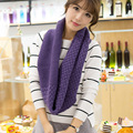 Women Wool Autumn Winter Fashion knitting Wool Collar Warmer Scarf Unisex Shawl Neck Wrap Ring lic Women Infinity Scarves