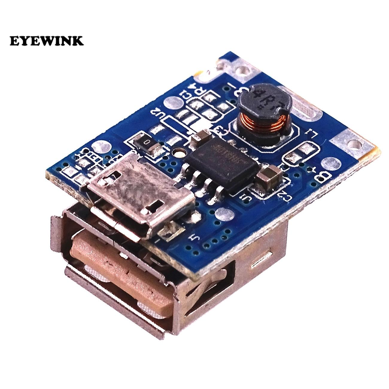 5 шт., 5 В, Повышающий Модуль питания, литиевый LiPo аккумулятор, плата для зарядки, светодиодный дисплей, USB для самостоятельного зарядного устройства, 134N3P программа|power module|protection boardstep up - AliExpress