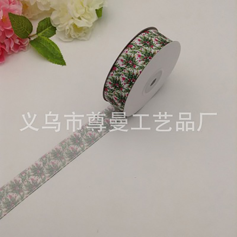 DIY Christmas Grosgrain Crafts Ribbon Accessories Party Decoration Handmade Gift
