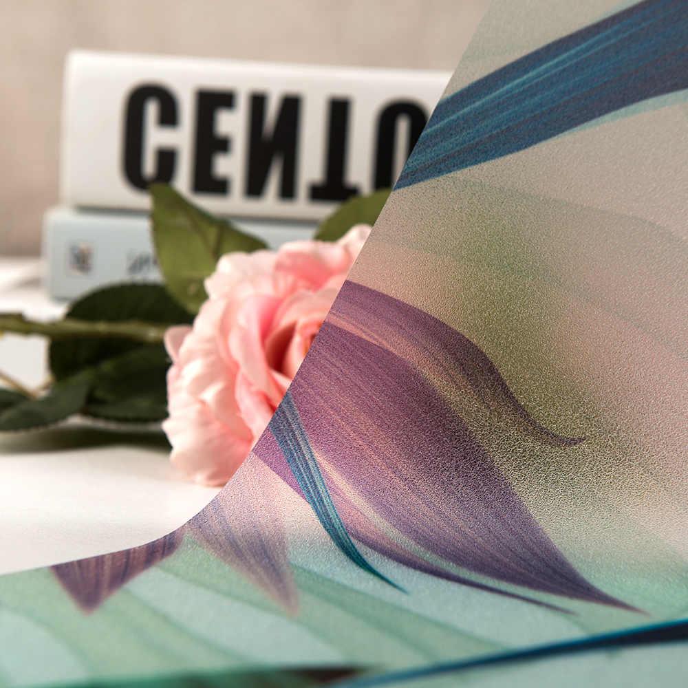 DICOR Finestra Pellicola Senza Colla Elettricità Statica Glassato Privacy Stained Glass Porta Anti UV Bagno Decor Complementi Arredo Casa Stampa Digitale BLT129