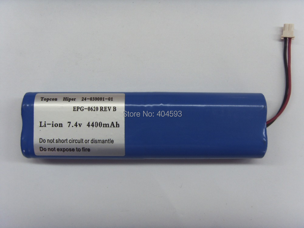 BRAND NEW <font><b>Battery</b></font> 24-030001-01 For Topcon Hiper GPS <font><b>7.4V</b></font> <font><b>4400mAH</b></font> image