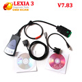 Scanner de Diagnóstico Lexia 3 PP2000 Lexia3 V48 pp2000 lexia PP2000 para Citroen Peugeot Diagbox V7.83 frete grátis