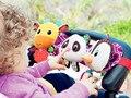 Juguetes Para bebés de 0-12 Meses Sonajero Juguetes de Los Niños Para Los Recién Nacidos Bebés Cochecito de Paseo de la Felpa Animal Lindo Panda Pingüino Ciervos Juguete educativo