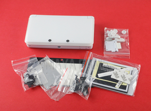 Image 3 - 1set Full Complete Housing Shell case with screen lens for 3DS Case Cover Replacement Repair Parts with Buttons kit+3M sticker