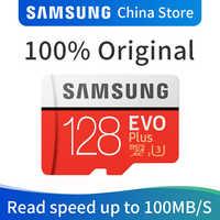 Carte mémoire SAMSUNG EVO PLUS 128 go micro SD SDHC SDXC Grade CLASS10 UHS-I U3 4K TF cartes Trans Flash microSD