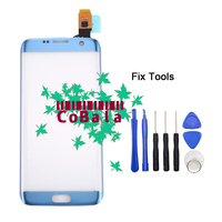 1Pcs Gold Coral Blue For Samsung Galaxy S7 Edge G935 G935F 5 5 Touch Screen Digitizer