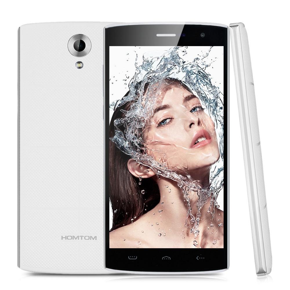 HOMTOM HT7 smartphone Quad Core 1280x720 HD video play 3000mAh black white color 1GB RAM 8GB