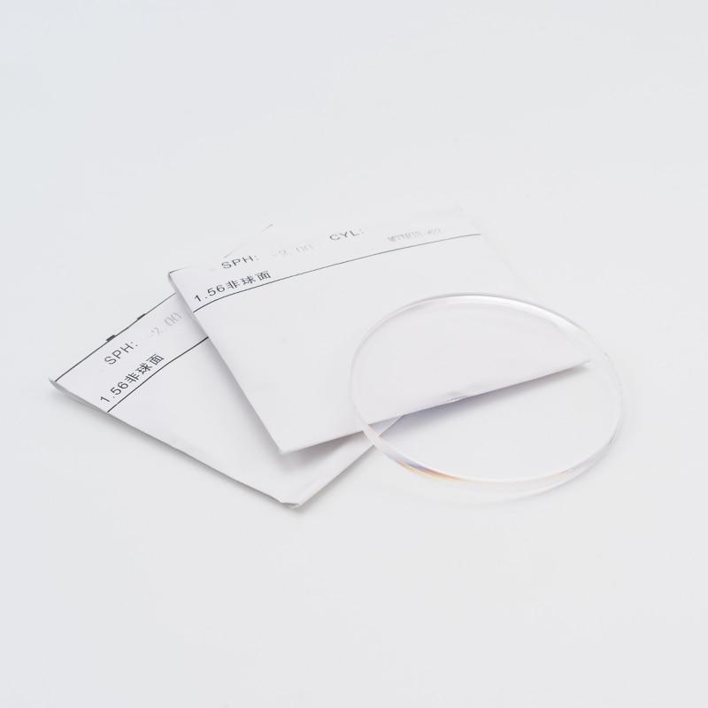 Image 2 - 1.56 مؤشر CR 39 العدسات الكروية البصرية للنظارات قصر النظر قصر النظر القراءة وصفة طبية عدسة مضادة للأشعة فوق البنفسجية-في اكسسوارات من الملابس والإكسسوارات على AliExpress