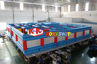 Outdoor sport large inflatable laser tag arena maze for sale
