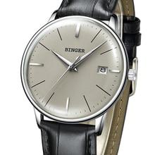2017 BINGER Mechanical Watch Men Brand Luxury Men's Automatic Watches Sapphire Wrist Watch Male Waterproof Reloj Hombre B5078M-5