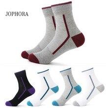 2019 hot sale explosion men's cotton four seasons sports socks basketball sports breathable mesh socks (5 colors)
