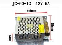 50 упак. переключатель Питание драйвера 12 В 5A 60 Вт для Светодиодные ленты свет