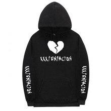Xxxtentacion Толстовка грустный для мужчин кофты Рэппер хип хоп пуловер с капюшоном свитеры Swag хлопок месть убить длинным рукавом