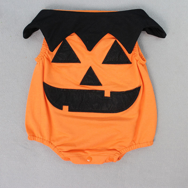 Pumpkin Halloween Baby Costume