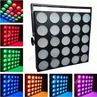 25 Heads LED Matrix Lights Commercial DMX Stage Lighting Effect RGB Professional Stage DJ Party Light