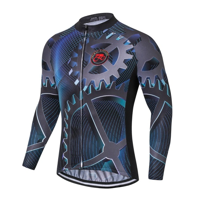 Gear 2018 Cycling Jersey Men Bike Long Sleeve shirts Ropa Ciclismo Cycle  Maillot Bicycle Top MTB Cycling Clothing Spring Autumn 372398aed