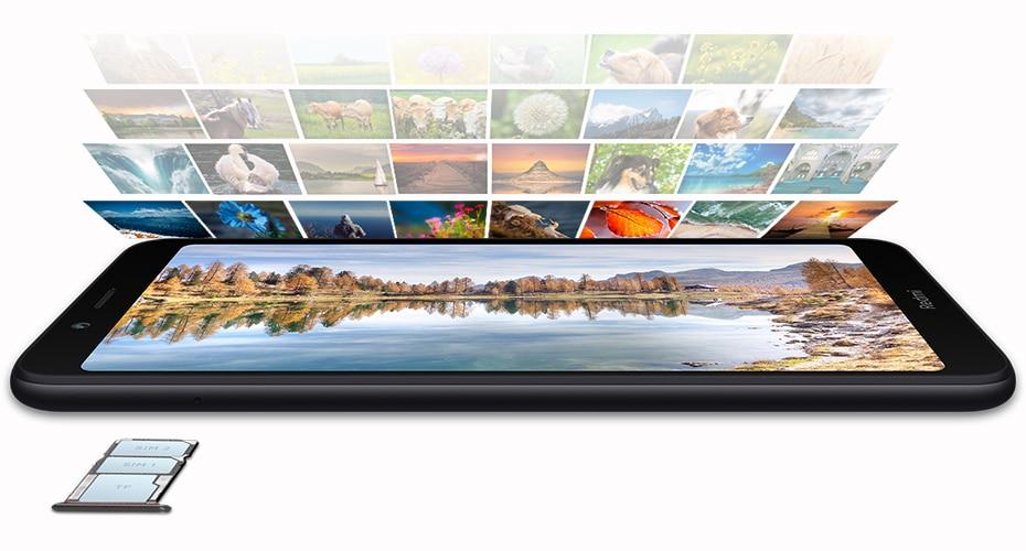 "HTB1A4lbaSSD3KVjSZFKq6z10VXas Global Version Xiaomi Redmi 7A MI Celular 2GB 16GB Smartphone Snapdargon 439 Octa Core 4000mAh AI Face Unlock 5.45"" 13MP Camera"