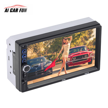 New 7 inch 2Din With Car MP5 MP4 MP3 Touch Multimedia Player Card Radio Bluetooth Call Work With Android iPhone Phone Internet
