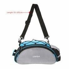 Nosii Large Capacity MTB Bike Bicycle Cycling Rear Back Seat Saddle Storage Bag Rainproof Bag With