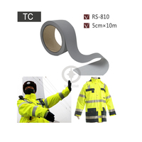 5cmx10m reflective tc backing fabric sewed on chaleco reflector for road safety.jpg 200x200