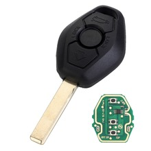 цена на 3 Button Remote Key For BMW X3 X5 Z3 Z4 1/3/5/7 Series EWS System 315/433MHZ With PCF7935 ID44 Chip HU92 Blade