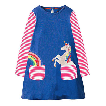 Unicorn Toddler Dress 1