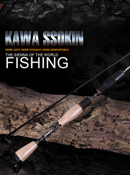 KAWA Новая серия спиннинги SSOKIN, форель белая рыба Makou и китайский окунь приманка стержень, Z Тип направляющее кольцо, Бесплатная доставка >> kawa Official Store