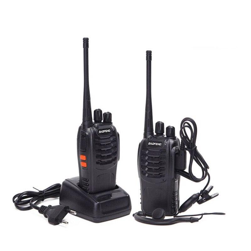 Image 5 - 2/4Pcs Baofeng BF 888S Walkie Talkie UHF A Due Vie Radio BF888S  Radio del Palmare 888S Comunicador Transceiver Trasmettitore    auricolari-in Walkie-talkie da Cellulari e telecomunicazioni su