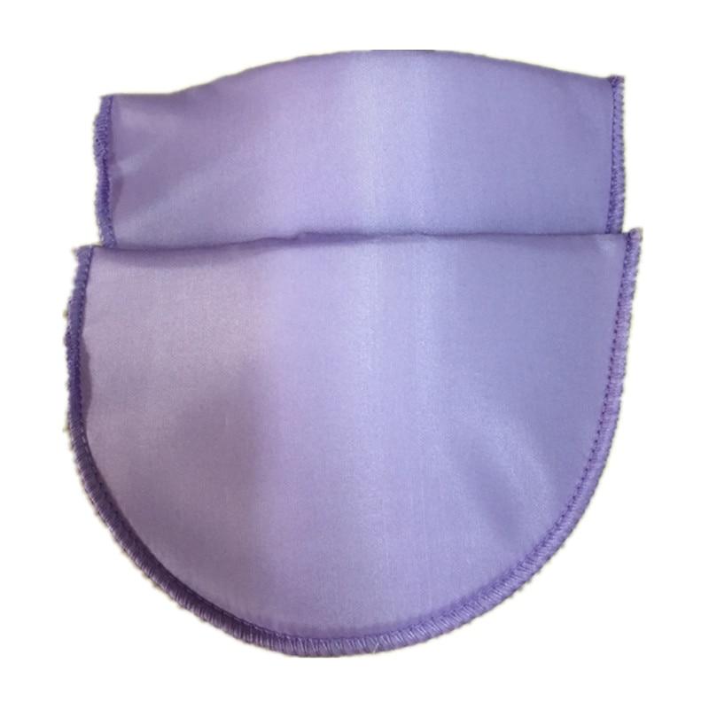 1 пара Высококачественная губчатая Наплечная подкладка для женщин блейзер футболка ветровка одежда аксессуары около 16*10*1 см - Цвет: light purple