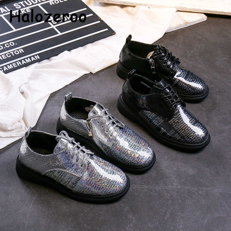 Autumn 2019 New Baby Girls Black Shoes