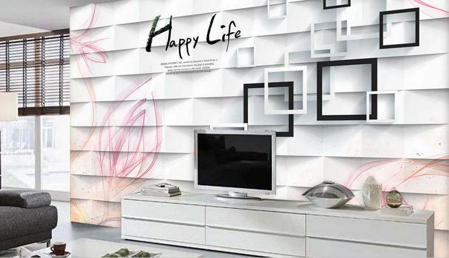 2018 New luxury 3d Pink Watercolor flowers wall paper 3D murals background wallpaper for Living room bedroom TV background mario fantasy sky background 3d wallpaper murals living room bedroom study paper 3d wallpaper