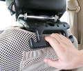 Criativo barra de garra de segurança Auto gancho assento de carro encosto de cabeça cabide