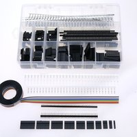 640Pcs Set Dupont Connector Dupont Plastic Shell Plug Dupont Jumper Wire Cable Pin Header Electronic Component
