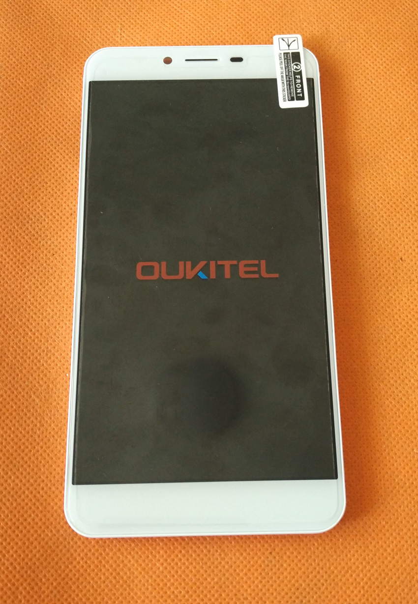 Used Original LCD Display Digitizer Touch Screen Frame for Oukitel U15S 5 5 Inch FHD MT6750T