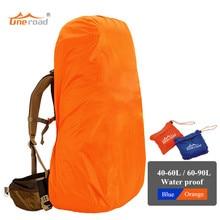 30L-90L cubierta para la lluvia cubierta mochila bolsa de deporte cubre protección contra el polvo a prueba de agua para acampar al aire libre senderismo Escalada ciclismo