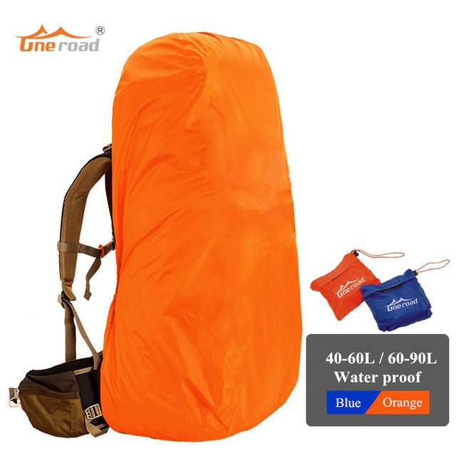 30L - 90L backpack cover sport bag covers dust protection waterproof rain  cover for outdoor camping 2ec6158d44e57