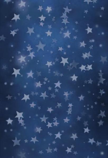Vinyl cloth print blue sky stars wallpaper photo studio backgrounds for newborn stage portrait photography backdrops F-1292